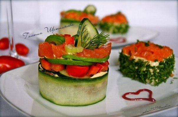 Салат на День Св. Валентина