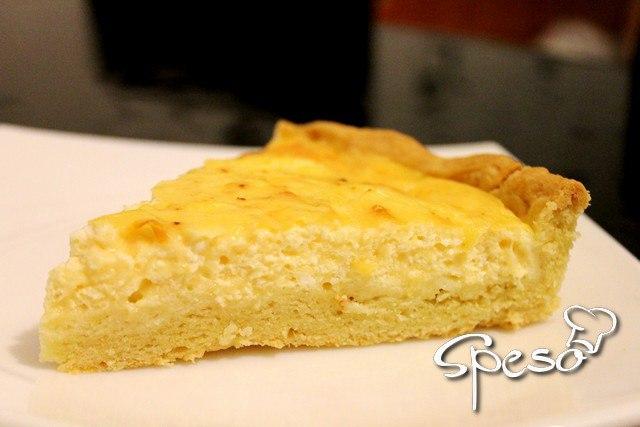 Рецепт самого нежного и вкусного сырного пирога